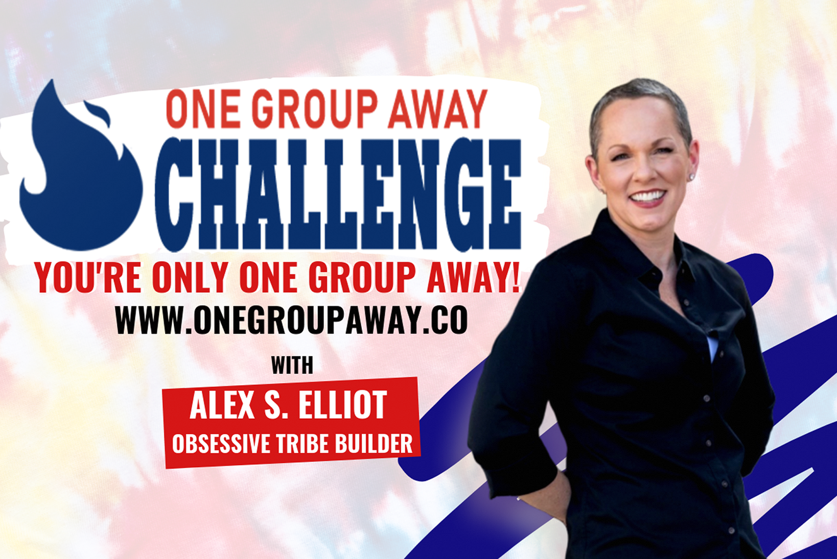 Join the One Group Away Challenge Here!