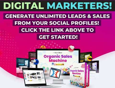 Get Your Organic Sales Machine Here!